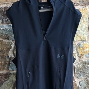 UNDER ARMOUR NWT Vanish Sleeveless Mens Hoodie MED
